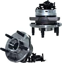 Detroit Axle 513214 Front Wheel Bearing and Hub Assembly 5-Lug (2pc Set, w/ABS)..