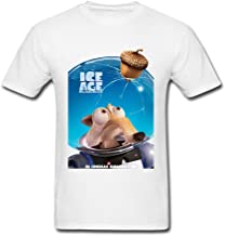 SAMMA Men's Ice Age Collision Course Design Cotton T Shirt