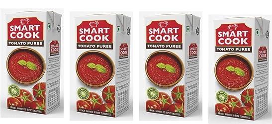 Smart Cook Tomato Puree, 200ml