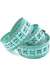 wartoon 60/inch//1,5/Meter retr/áctil y gamuza de flexible de costura de costura cinta m/étrica para cuerpo vestido fabricantes y sastre Tailor cinta m/étrica Set