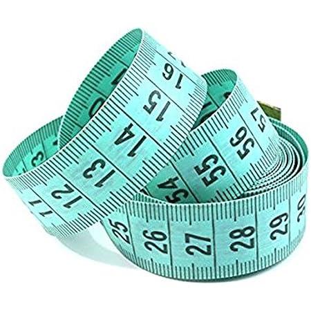 tooloflife Ruban de couture r/étro de 150 cm les outils de couture M/ètre /à ruban r/étractable pour le corps les travaux manuels