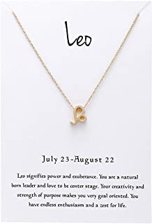 Amazon com: leo horoscope - Necklaces / Jewelry: Clothing