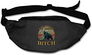 Fanny Pack For Women Men Voldemort Avada Kedavra Bitch Waist Bag Pouch Travel Pocket Wallet Bum Bag For Running Cycling Hiking Workout