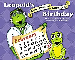 Image: Leopold's Long-Awaited Leap Year Birthday | Kindle Edition | by Dawn Desjardins (Author), C.E. Locander (Illustrator). Publisher: Artistic Ventures Publishing (February 1, 2016)