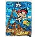 "Disney's Jake & The Neverland Pirates ""Hi Seas Pirate"" Micro Raschel Throw - 46""x60"""