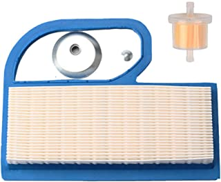 Harbot 11013-7002 Air Filter with Fuel Filter for Kawasaki FH451V FH500V FH531V FH541V FH580V FH680D 4 Stroke Engine John Deere M137556 Lawn Mower