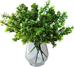 PENATE 1 Bunch Artificial Holly Leaves (A Bunch of Seven Fork),Simulation Farmhouse Greenery Holly Leaves for Farmhouse Home Garden Office Patio Wedding and Indoor Outdoor Decoration