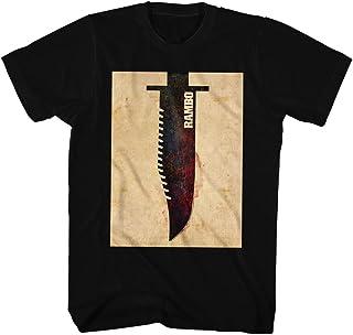 Rambo - - Cuchillo camiseta de los hombres de