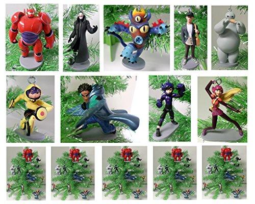 Big Hero 6 Baymax & Friends 9 Piece Holiday Christmas Ornament Set