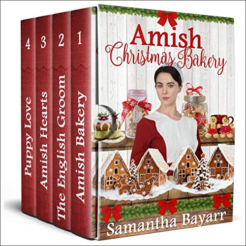 Amish Christmas Bakery Audiobook By Samantha Bayarr cover art