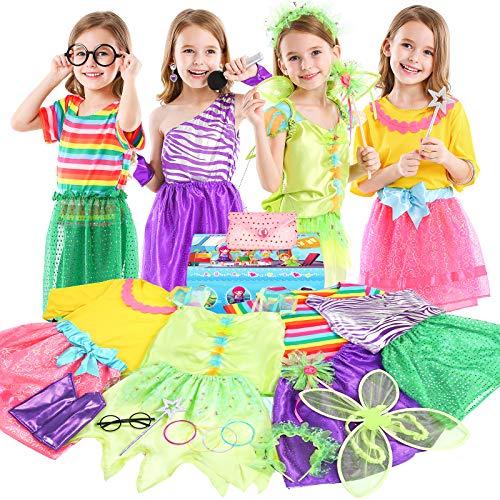 Teuevayl Little Girl Princess Dress up Trunk