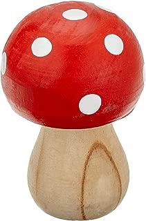 木蘑菇,圆形,6x4 厘米 1 个西马木