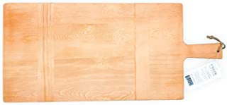 Chloe and Cotton Large Rectangular Pine Wood Bread Board 22.5