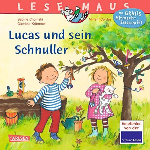 LESEMAUS 80: Lucas und sein Schnuller (80)
