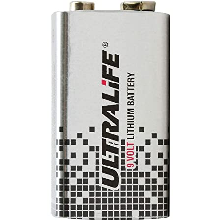 Ultralife U9vl Lithium Batterie 9 V E Block Elektronik