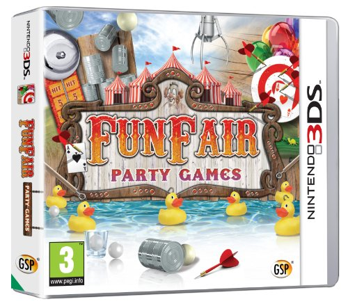 NEW & SEALED! compatible with X-Box Funfair Party Games Nintendo 3DS Game UK PAL