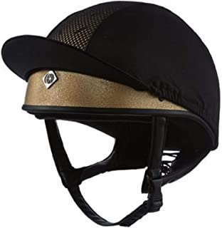 Charles Owen Pro II Plus Skull Riding Hat Round Fit Gold 58cm