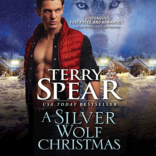 A Silver Wolf Christmas audiobook cover art