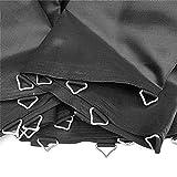 IrahdBowen 10 Piezas Universal Anillos Triangulares Anillos En V con Hebilla para Trampolín...