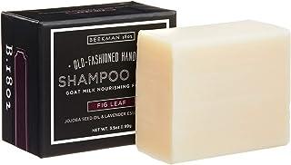 Beekman 1802 - Shampoo Bar - Fig Leaf - Nutrient-Rich Goat Milk Hair Cleansing Bar - Cruelty-Free Bodycare - 3.5 oz