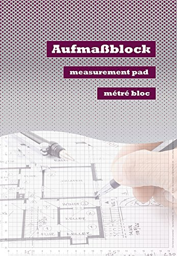 Aufmaßblock Handwerkerblock Skizzenblock Planungsblock Zeichenblock (2)