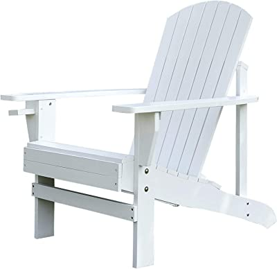 Amazon.com: durogreen® Aria Adirondack silla, Marino: Jardín ...