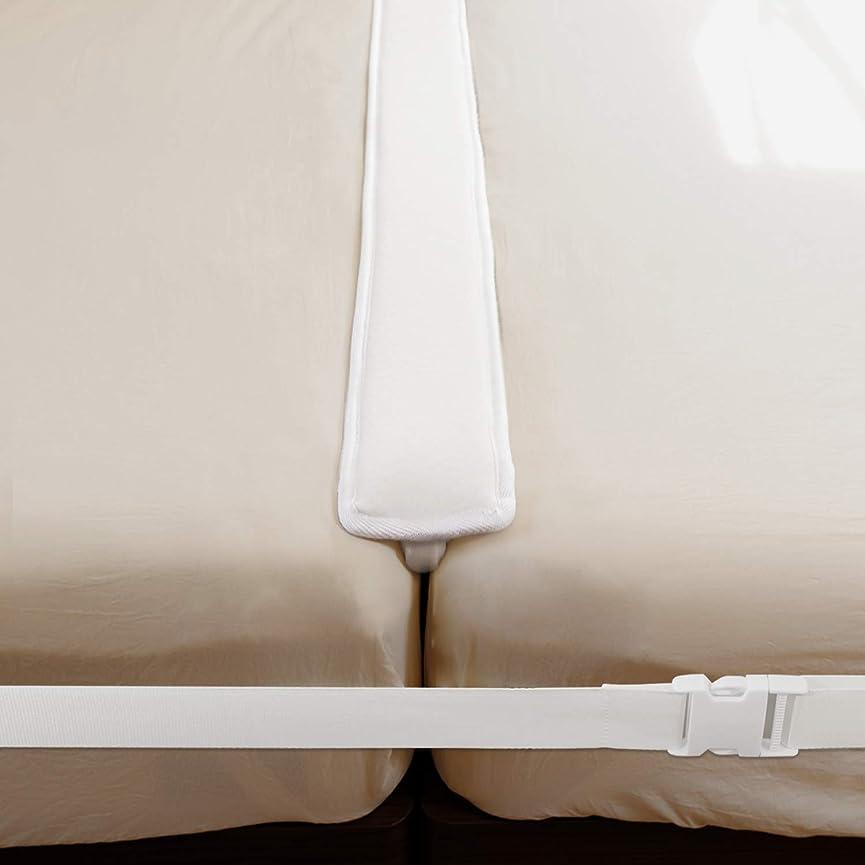 それによって書き込み卑しい【2点セットでガッチリ固定】すきまパッド 固定ベルト ベッド マットレス ズレ防止