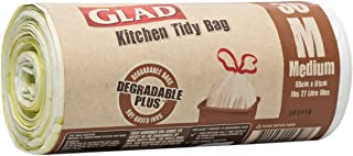 Glad Kitchen Tidy Degradable Plus Medium Bags - 30 Count