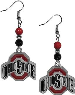 NCAA Fan Bead Dangle Earrings