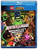 LEGO DC Comics Super Heroes: Justice League: Gotham City Breakout (Blu-ray + DVD + Digital HD + Includes Nightwing Lego Mini figure)