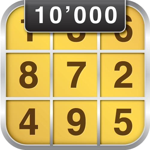 Sudoku 10'000 Free