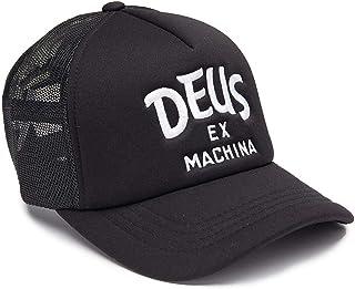 DEUS EX MACHINA (デウスエクスマキナ) / メッシュキャップ 帽子 CAP/CURVY TRUCKER - BLACK / DMF87501 / メンズ