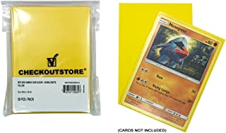 CheckOutStore (300) Protective Sleeves for Magic The Gathering MTG, Pokemon, Board Games Trading Cards (66 x 91 mm) (Doubl...