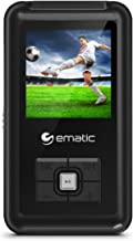 Ematic 8GB MP3 Video Player with FM Tuner/Recorder and 1.5-inch Color Screen, Black