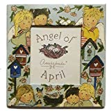 Gnomys Diaries Angel De Abril Marco de Fotos con Iman, Cartón, Multicolor, 6x0.2x8 cm