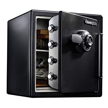 SentrySafe Fire and Water Safe, Extra Large Combination Safe, 1.23 Cubic  Feet, SFW123CS : Amazon.in: Home Improvement