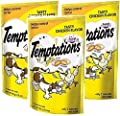 Whiskas 3 Pack Temptations Tasty Chicken Flavor Treats Cats, 3-Ounces Per Pouch