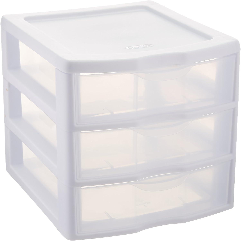 Amazon.com: Sterilite ClearView 3 Storage Drawer Organizer: Home & Kitchen