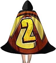 Xie Sengwu Borderlands 2 Kid Halloween Cloak Cape with Hood Cosplay Costumes Robe