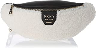 DKNY Women's Sherpa Belt Bag, White - R93IIE18