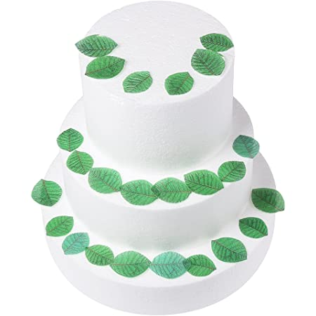Tropical Palm Leaves Cake Topper Icing Sheet Wafer Paper