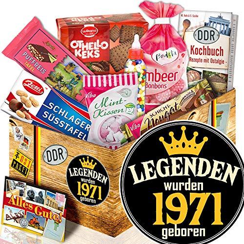 Legenden 1971 - DDR Süßigkeiten - Geschenkidee 1971