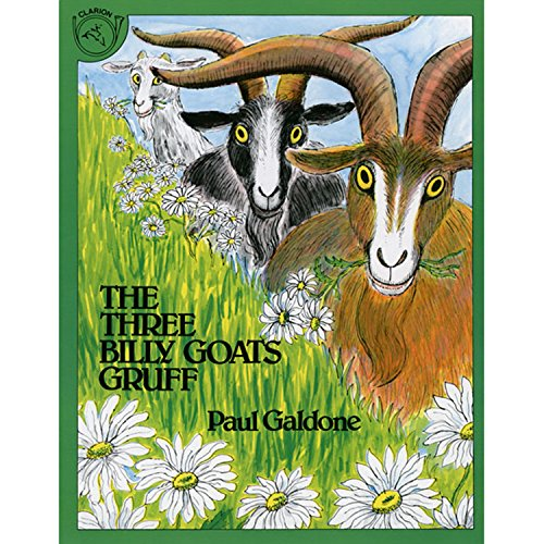 The Three Billy Goats Gruff Big Book (Paul Galdone Classics)