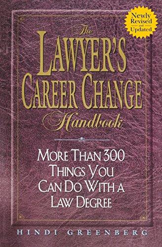 The Lawyer's Career Change Handbook