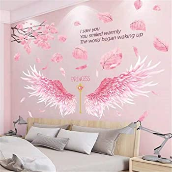 Wall Mural Photo Wallpaper Standard Paper Girls Room Decor Princess and Flowers