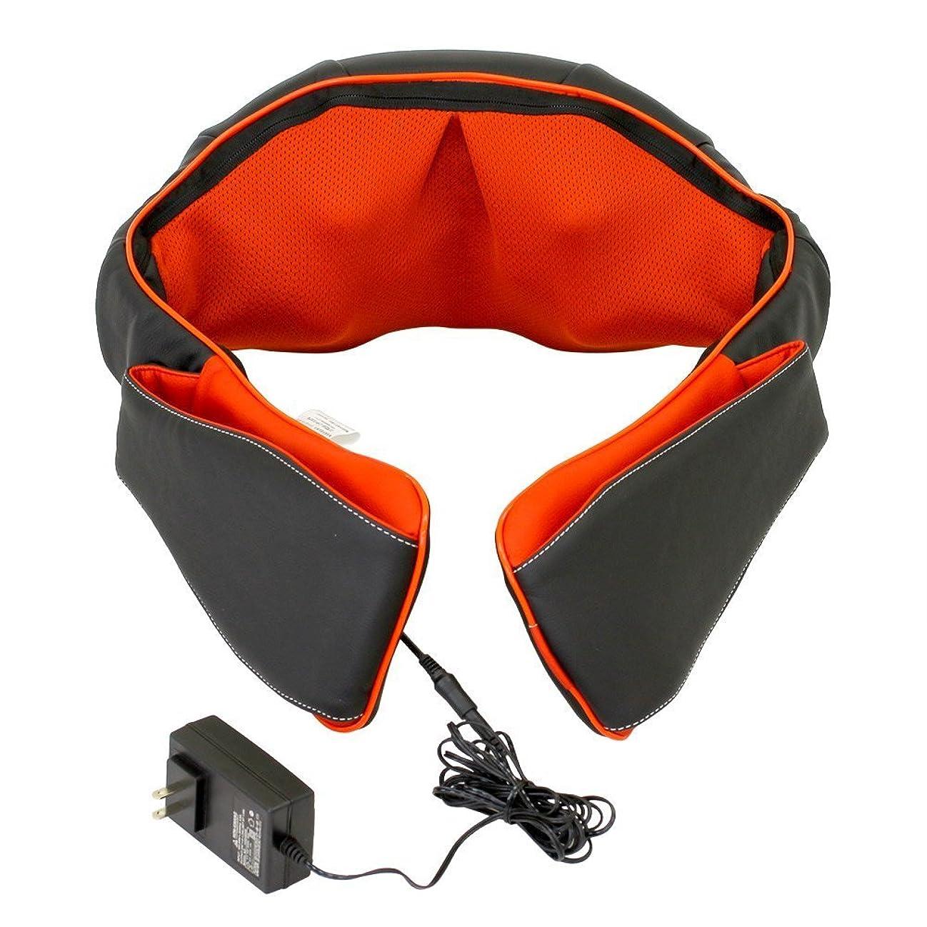 ビザ微視的切断する医療機器認可取得 マッサージ器 ネックマッサー も~む 首?肩?背中?腰 マッサージ機 指圧風もみ玉マッサージ 058356
