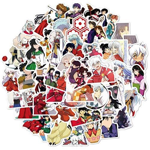 DUOYOU Dibujos animados Anime Pegatina Impermeable Monopatín Viaje Maleta Teléfono Móvil Portátil Equipaje Etiqueta Lindo Niños Niña 100pcs