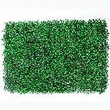 Jardimex Follaje Artificial Sintentico Muro Verde Pared Decoracion Casa Hogar Jardin Interiores Exteriores 15 Piezas Tamaño 60x40 cm Verde