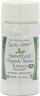 SweetLeaf Organic Stevia Extract, 0.9 Ounce (Pack of 2)