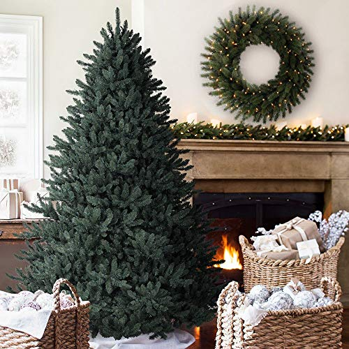 Balsam Hill Classic Blue Spruce Artificial Christmas Tree, 6.5 Feet, LED Clear Lights